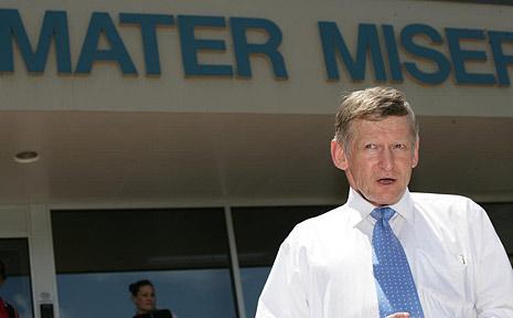 Former assistant health minister Dr Chris Davis.