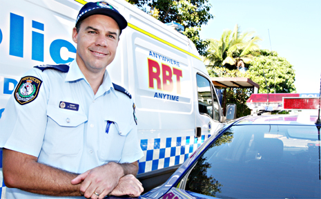 SERGEANT Rod Golden is pleased with a drop in Tweed's drink driving charges and hopes the figures will stay down.