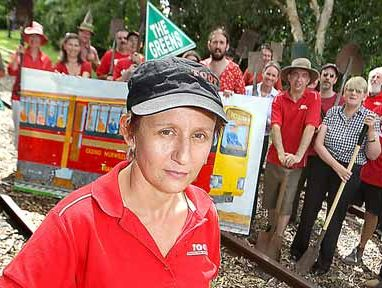 TOOT president Karin Kolbe is looking forward to a rail study being made public.