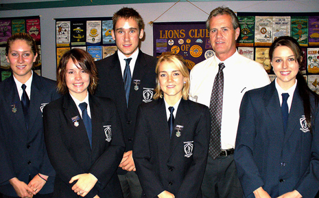 In the final of the Bonville/Sawtell Lions Youth of the Year Quest, six students from Toormina High School came together to vie for the crown of Youth of the Year.