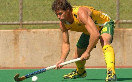 Former Australian hockey player, Brent Livermore.