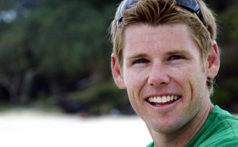 Optimistic... superbiker Karl Muggeridge.