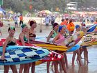 Record numbers of competitors and spectators at the Nipper titles in Mooloolaba. Photo:John McCutcheon/181303