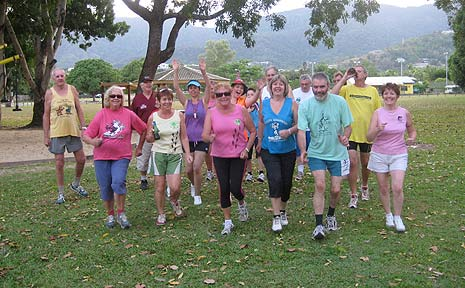 It's all about having fun at the Hash House Harriers.