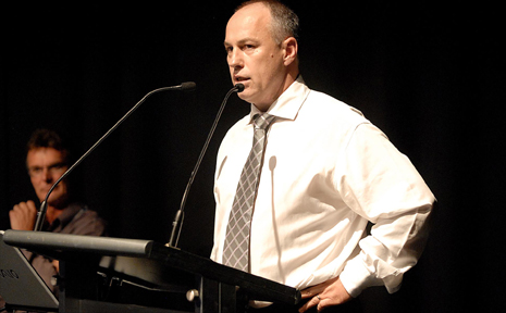 The Daily Mercury's David Fisher is named Editor of the Year at the APN Editorial Awards.