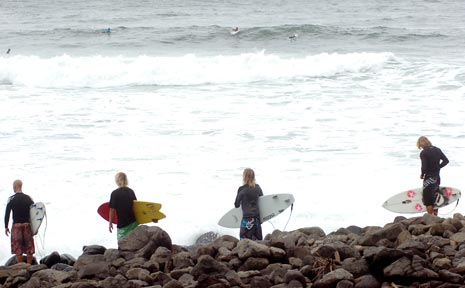 Surfers could be spending more time out of the water than in this summer, if predictions hold true.