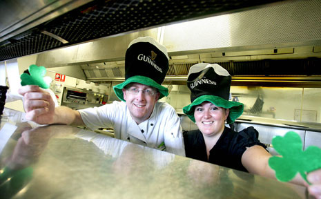 Crave Restaurant head chef Stephen Somers is looking forward to celebrating his country's national day on Tuesday.