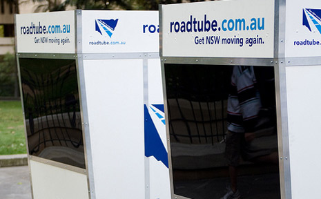 The NRMA's RoadTube booths allow drivers to vent their gripes over the NSW traffic system.