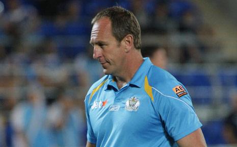 Gold Coast Titans coach John Cartwright.