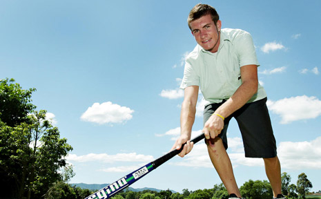 Jake Farrell is one of a number of local hockey players chosen for representative honours.