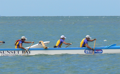 Sunset Bay Outrigger Canoe Club is hosting its annual regatta at Eimeo Beach tomorrow.
