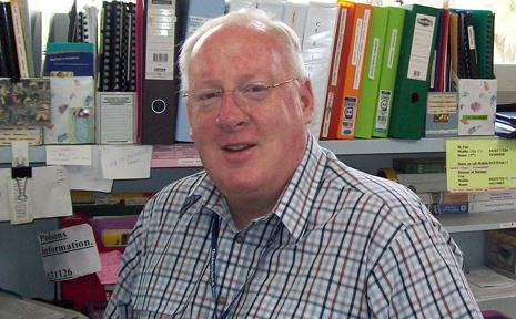Taroom's new director of nursing Greg Hill likes his new surroundings and staff at the Taroom Hospital.