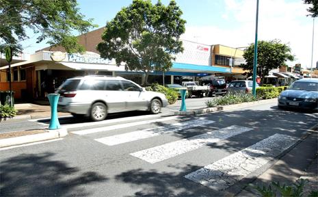 GRIFFITH Street, Coolangatta, where an elderly woman was hit by a drunk driver.