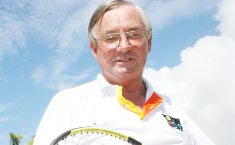 Bill McDonald . . . has been coaching young tennis players for 30 years.