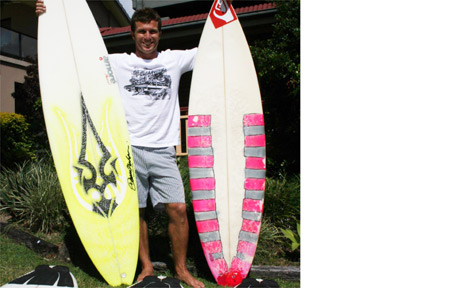 Danny Wills will now surf for pleasure, after retiring from professional world surfing.
