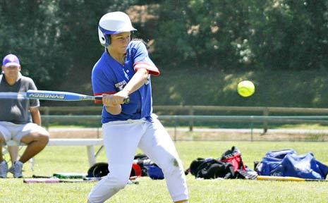 Softball champion Lucy Lochart.