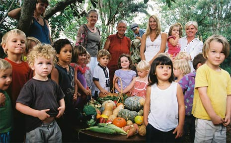 Periwinkle kids 'connect' with Liberation Larder initiative through their Autumn Festival last week. (Photo and story Jenny Edney)