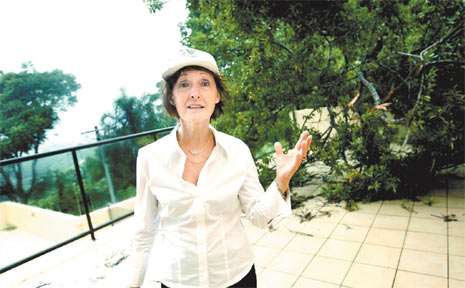 Jacqueline Glinatsis says she has complained to Gold Coast City council for years about the safety of a tree that fell on her house in this week's wild weather.