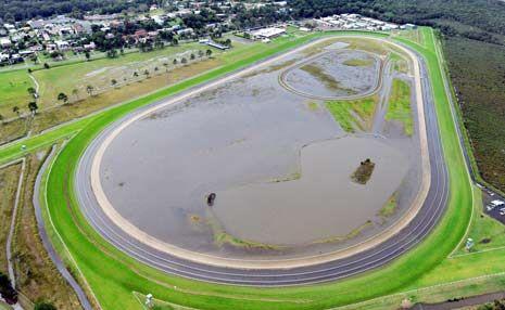 Coffs Harbour race track.