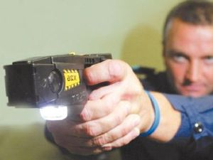 Man 'stunned' at court response to taser device