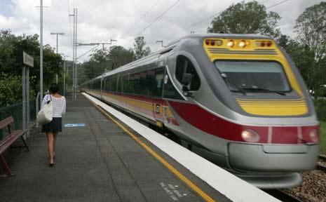 The Tilt Train.