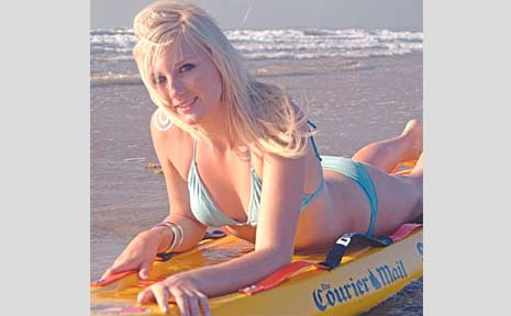 Kayleigh Brewstre, who will be sponsored by Cornell Engineers, is one of the Surf Girl 2009 entrants. The winner of the quest will be an ambassador for the Mackay Surf Life Saving Club.