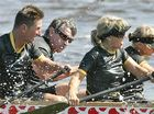 The action was fast and furious at the National Dragon Boat Titles. Photo:Brett Wortman/182219