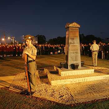 Anzac Day 2009 at Coolum. Photo Mike Garry/scw148i