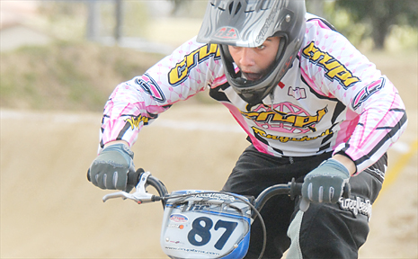 Jack Buchhorn is one of two national BMX champions to hail from Mackay.