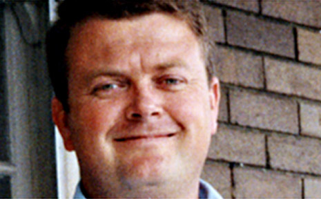 Ambulance officer Mark Thomas was killed in a freak farming accident.