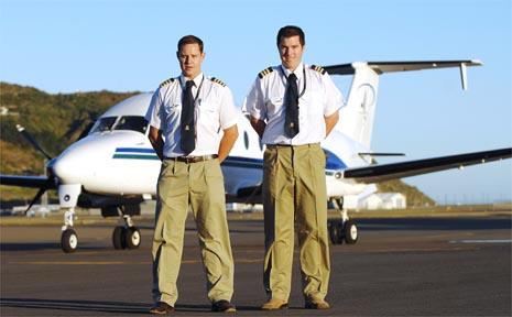 Captain Simon Dore and first officer Matt Judd will pilot the new aircraft.