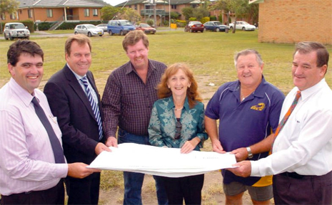 A$2 million grant from the Federal Government has ensure Wherrett Park Sports Centre in this year's Council Budget.