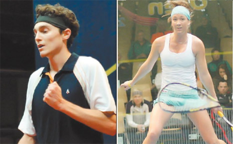 Cameron Piley and Donna Urquhart are off to the World Games in July.
