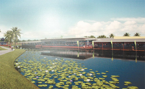 An artist's impression of proposed changes to Club Banora.
