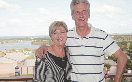 Tweed Mayor Joan van Lieshout and her husband Peter who went from bottle collector to millionaire.