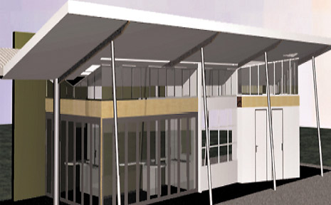 An artist impression of Tweed Tourism's new Gateway Tourism Information Centre.