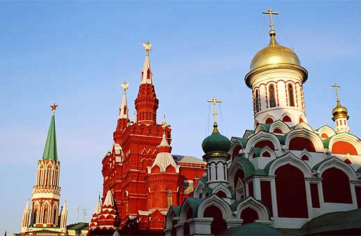 Red Square, Moscow. Photo:Flickr/yeowatzup