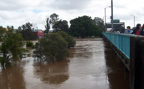 Flooding in Lismore.