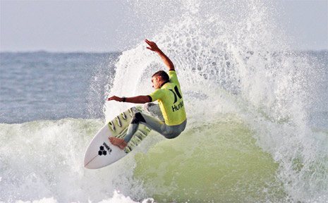 Fresh from his victory in the Triple Bull Pro at Cronulla, current Hurley NSW Championship Circuit ratings leader Rhys Bombaci (Kiama Downs, NSW) will be looking for a repeat performance when he lines up against a red hot field in the Bay Action Pro this weekend. Photo: Michael Tyrpenou/Surfing NSW