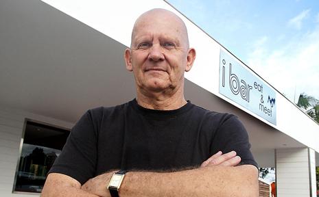 iBar owner Warren Armstrong