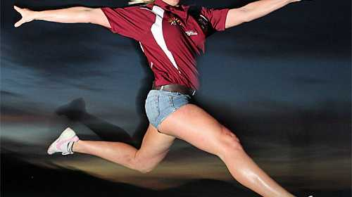 Amelia Redgard is looking for people to be cheerleaders for the Sunshine Coast Sea Eagles. Photo:Nicholas Falconer/182880