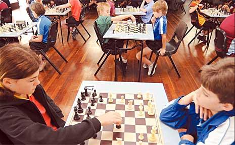 Children's chess tournament