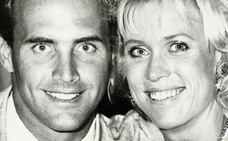 Grant and Lisa Curry-Kenny in happier times.