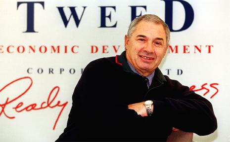 Tom Senti of the Tweed Economic Development Corporation.