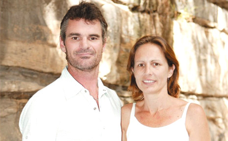 Tweed couple Craig Dight and Tracy Ellis before their makeover on Prime TV's 10 Years Younger in 10 Days.