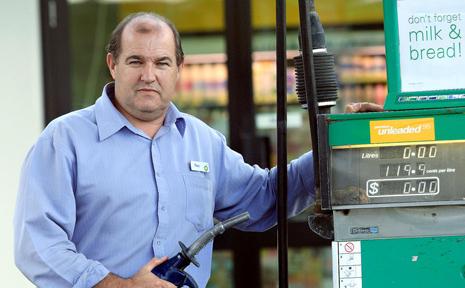 BP Chinderah proprietor Tony Nash.