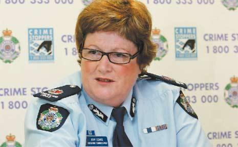 Assistant Commissioner Ann Lewis