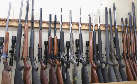 Police had 67 firearms handed in during a recent amnesty period.