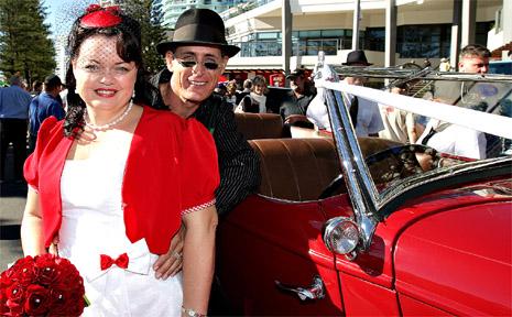Rachael and Warren Azzopardi were married at Wintersun on the weekend.