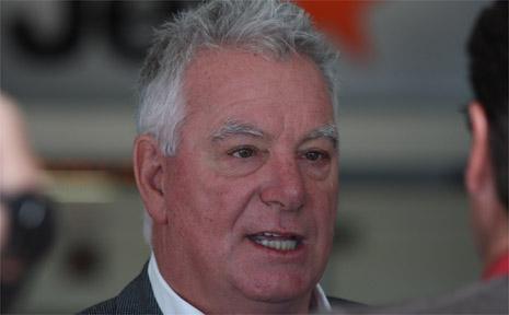 Gold Coast Airport boss Paul Donovan.